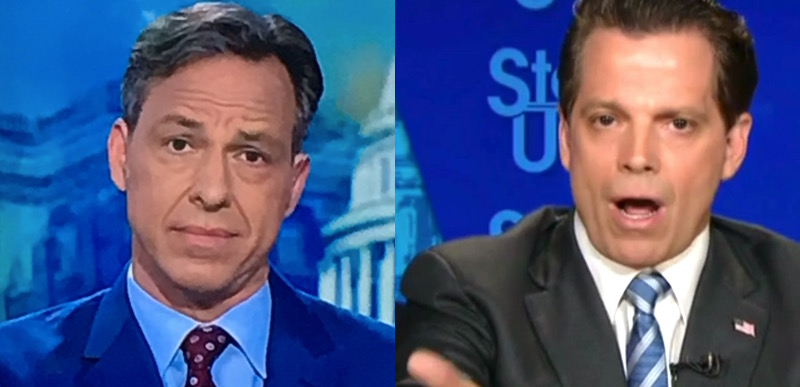 Scaramucci tells Jake Tapper he's going to bring KLEENEX ...