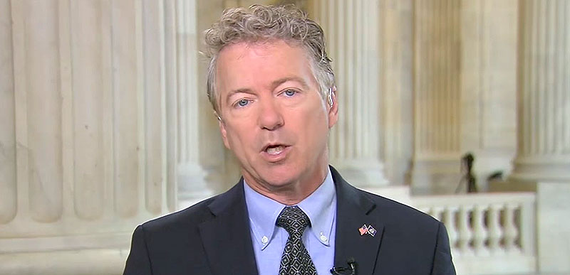 Rand Paul says the threat of war is 'greatly diminished' now that Bolton is gone