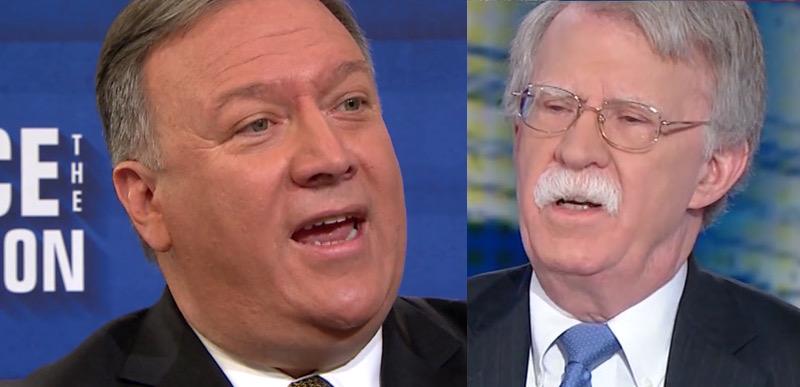 Sec. Pompeo unleashes on John Bolton, calls him a TRAITOR
