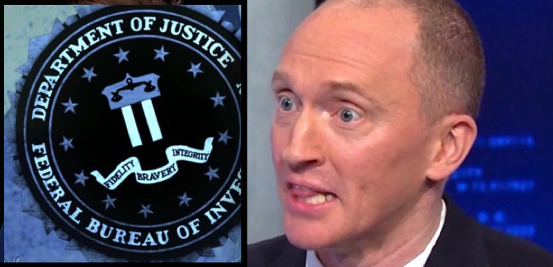 BREAKING: Justice Dept officially admits it lacked legal basis for continued surveillance of Carter Page