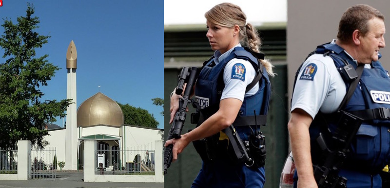 New Zealand Shootings Picture: Breaking! MASS SHOOTINGS At Numerous Mosques In New