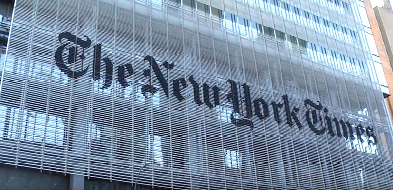 New York Times SJW insiders in UPROAR over poll asking about 'appropriate' use of N-word