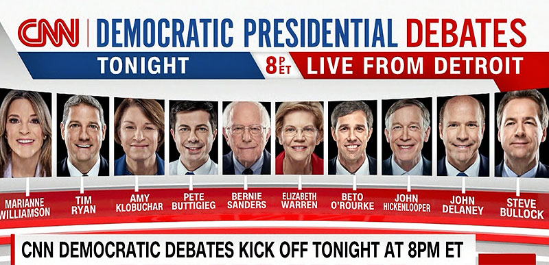 The ratings are in for CNN's Democratic debate last night and it AIN