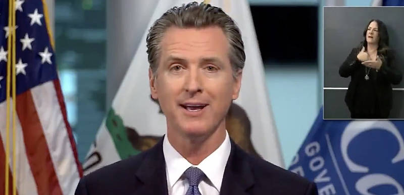 Gavin Newsom nailed for shutting down businesses – but not his own wineries