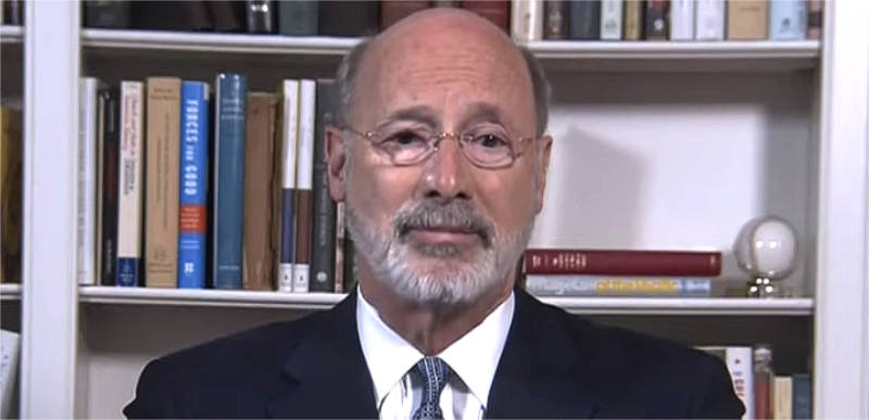 Pennsylvania Gov strikes with an iron fist, warns counties going rogue that he'll withhold funding if they refuse to obey his orders