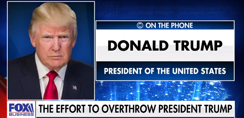 'I CAUGHT THEM': Trump tells Dobbs they've caught Obama, Biden on SPYING, 'breathtaking' what was found, BEYOND what we thought