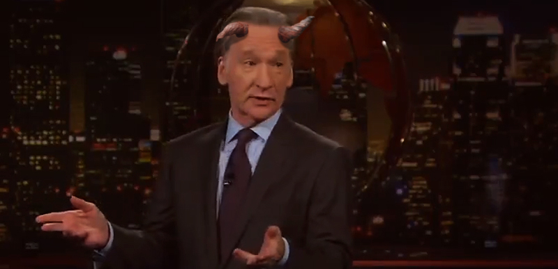 Amy Coney Barrett anti-religion HATE-fest is ON, Bill Maher out FRONT; Turley DESTROYS