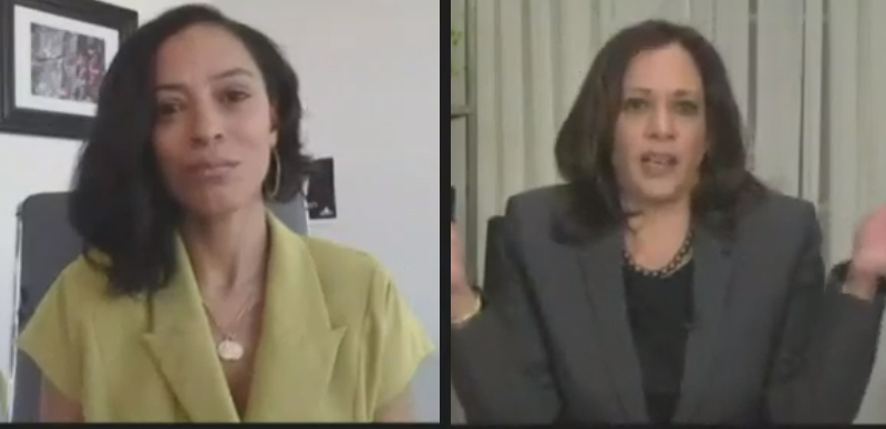 'SPEAK LOUDLY': Kamala Harris calls BLM street protests, which become RIOTS every night, a FIGHT and ESSENTIAL