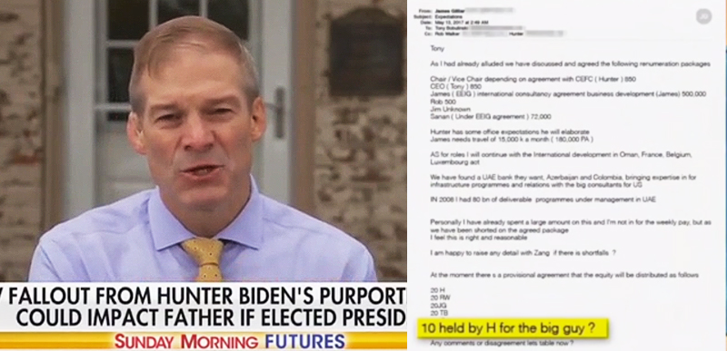 'As REAL as REAL can be' – Jim Jordan VERIFIES Hunter Biden laptop emails, not to mention MEDIA COVER-UP