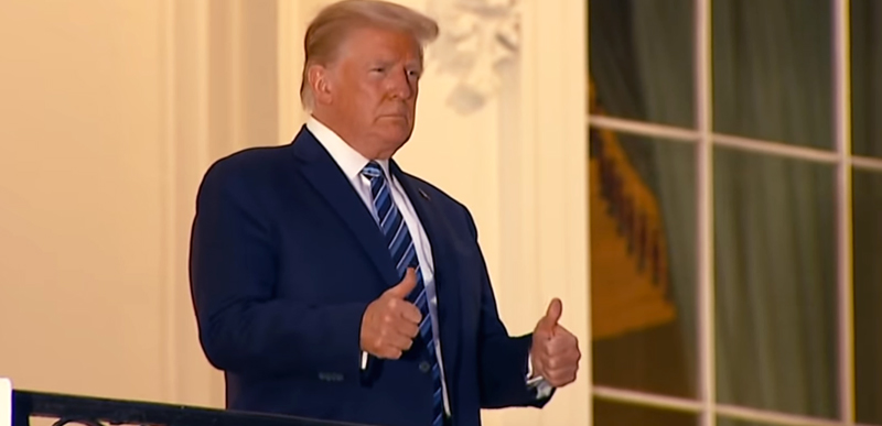 President Trump tests NEGATIVE for covid