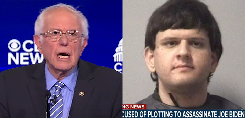 'Bernie Bro' plotted to MURDER Joe Biden. Bet Biden doesn't pull a WHITMER and blame Bernie for it.
