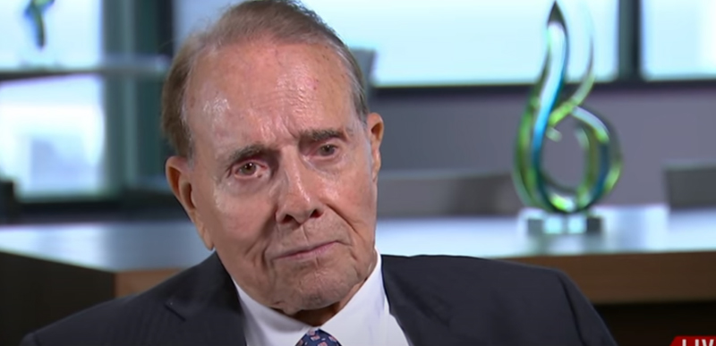 Bob Dole EXPOSES the biased and UNFAIR 'Presidential Debate Commission', Trump thanks him on Twitter