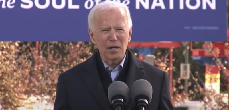 """America is dead"" – Joe Biden actually said this at his Iowa rally"