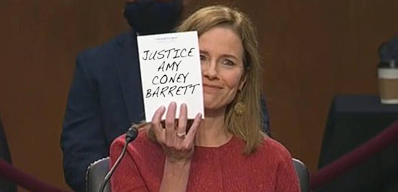 WATCH LIVE: Senate votes to confirm Amy Coney Barrett to the Supreme Court and liberal heads explode everywhere