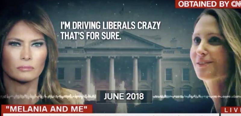 """I am driving liberals crazy"" – CNN plays leaked audio of Melania Trump slamming the liberal media"