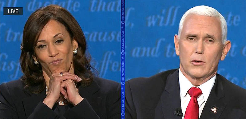 WATCH: Here's the moment Mike Pence BROKE Kamala Harris….and many more!