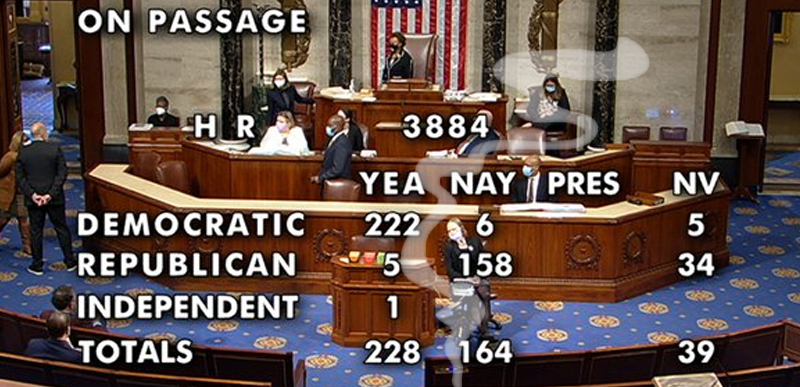 JUST IN: Democrat-controlled House votes to LEGALIZE IT, pass legislation to decriminalize marijuana