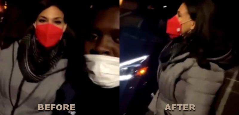 Ha ha haaaa: CNN reporter's mood changes FAST when black man surprises her with Project Veritas question
