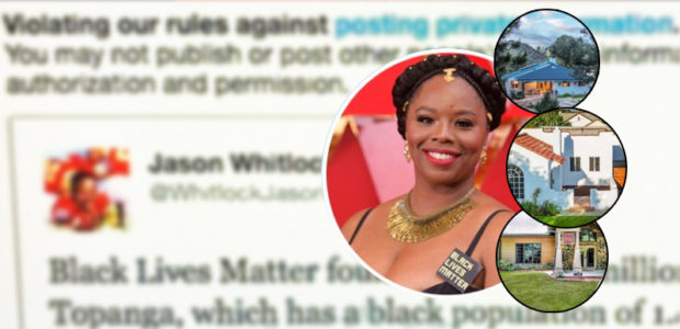 Shades of @NYPOST: Twitter SUSPENDS account for speaking ill of BLM co-founder, uses BOGUS claim of 'Private Information'
