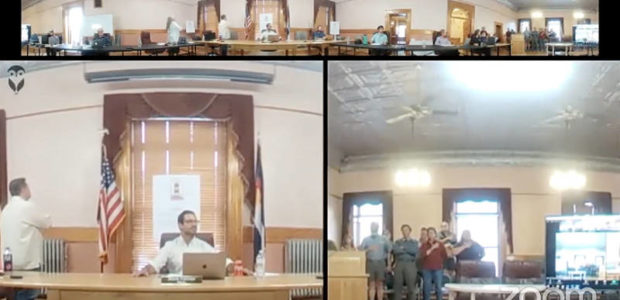 Colorado mayor gets upset when town meeting attendees recite the Pledge of Allegiance [VIDEO]