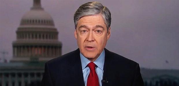 Self-righteous CNN jerk John Harwood shares DOCTORED pic equating MAGA with NAZIS